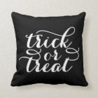 Trick or Treat Chic | Halloween Throw Pillow
