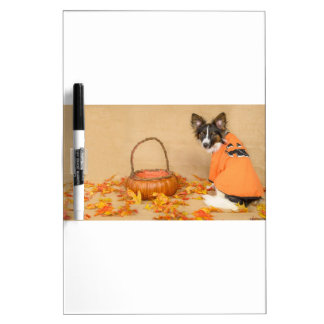 Trick or Treat Chihuahua Dog Dry-Erase Board