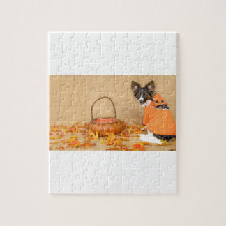 Trick or Treat Chihuahua Dog Jigsaw Puzzle