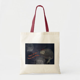 Trick or Treat Congo African Grey Tote Bag