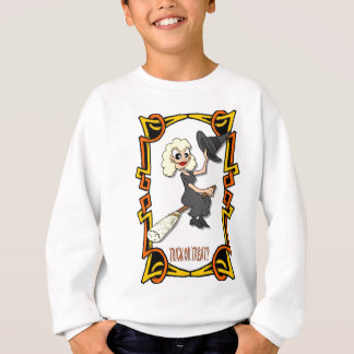 Trick or treat for Halloween Sweatshirt