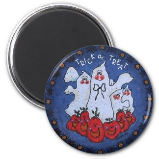 Trick or Treat Ghost Magnet