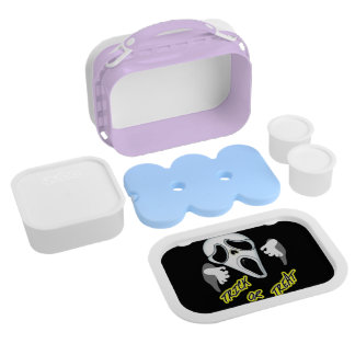 Trick Or Treat Ghostly Halloween Fun Graphic Lunch Boxes