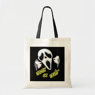 Trick Or Treat Ghostly Halloween Fun Graphic Tote Bag