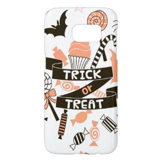 Trick or Treat Goodies Design Samsung Galaxy S7 Case