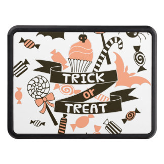 Trick or Treat Goodies Design Trailer Hitch Cover