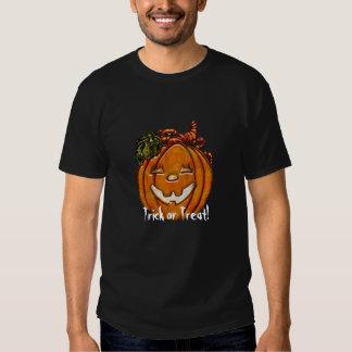 Trick Or Treat Grinning Jack O'Lantern T-Shirt