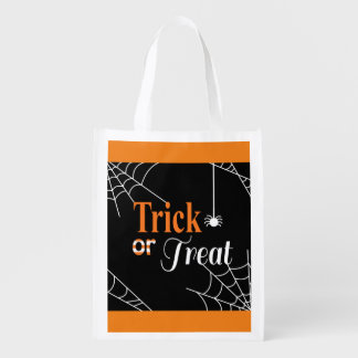 Trick or Treat Grocery Bags