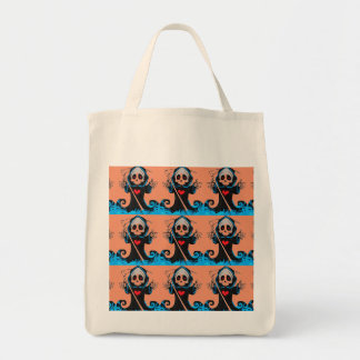 Trick or Treat Grocery Tote Grocery Tote Bag