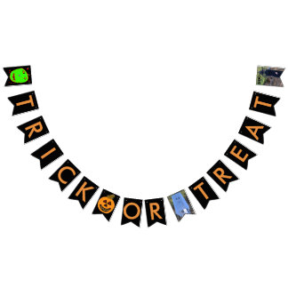 Trick or Treat Halloween Bunting Banner