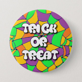 Trick or Treat Halloween Button
