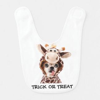 Trick Or Treat Halloween Chi Baby Bib