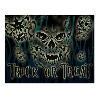 Trick or Treat Halloween Customizable Postcard