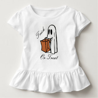 Trick Or Treat Halloween Ghost Toddler T-shirt