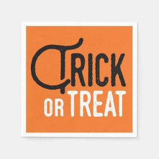 Trick or Treat   Halloween Paper Napkins