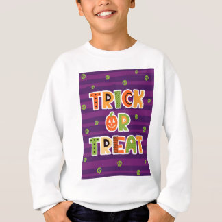 Trick or Treat Halloween Sweatshirt