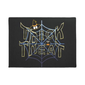 Trick-or-Treat-Haloween Doormat