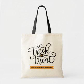 Trick or Treat, hand lettered