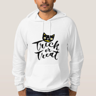 Trick or Treat - Hand Lettering Design Hoodie