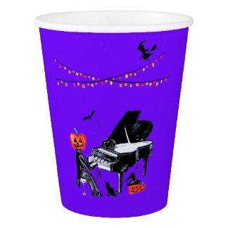 Trick or treat! Have a spooky Halloween Paper Cup