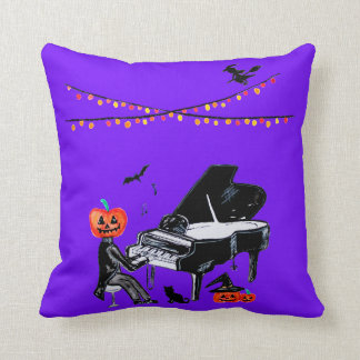 Trick or treat! Have a spooky Halloween Throw Pillow