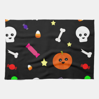 trick or treat kitchen towel