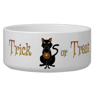 Trick or Treat Kitty Dog Bowl
