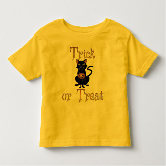 Trick or Treat Kitty Toddler T-shirt
