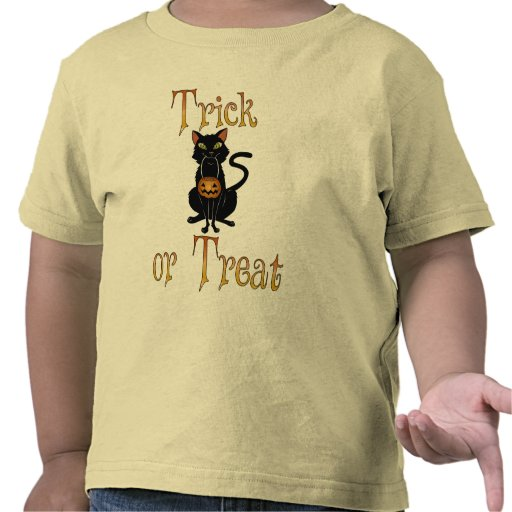 Trick or Treat Kitty Tees