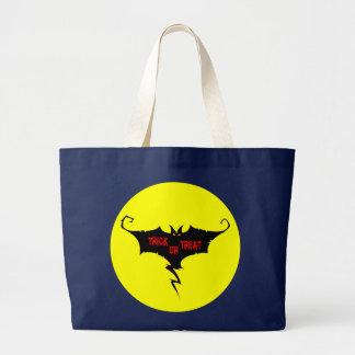 trick or treat large tote bag