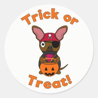 Trick or Treat LexiDog Sticker