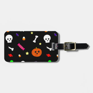 trick or treat luggage tag