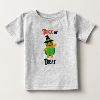 Trick or treat magic turtle hat boy colorful baby T-Shirt
