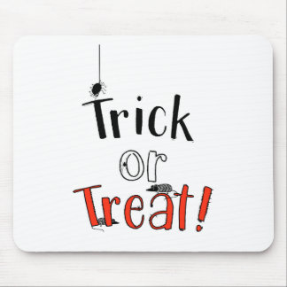 Trick or Treat! Mouse Pad