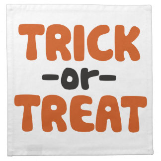 Trick or Treat Napkin