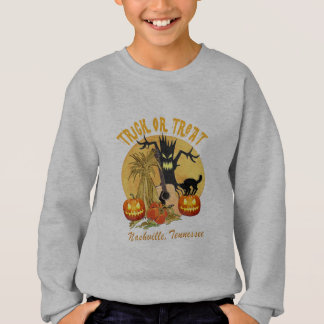 Trick or Treat Nashville Kid's Sweatshirt