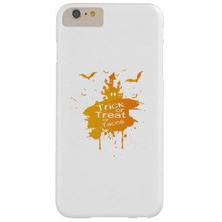Trick or Treat or Tacos Halloween Funny Barely There iPhone 6 Plus Case