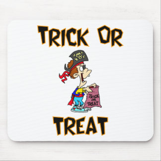 Trick Or Treat Pirate Costume Mousepads