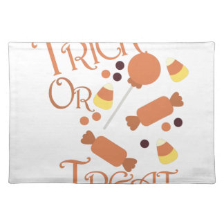 Trick Or Treat Place Mat
