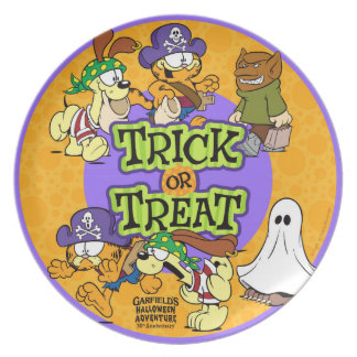 Trick-or-Treat Plate