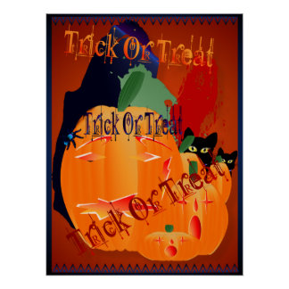Trick Or Treat Posters