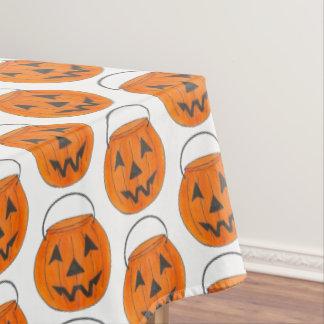 Trick or Treat Pumpkin Jack o' Lantern Halloween Tablecloth
