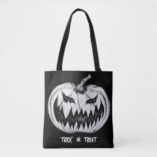 Trick or Treat Pumpkin Tote Bag
