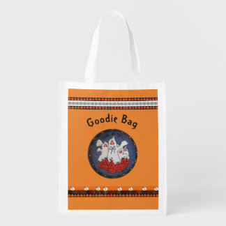 Trick or Treat Shopping Bag Grocery Bag