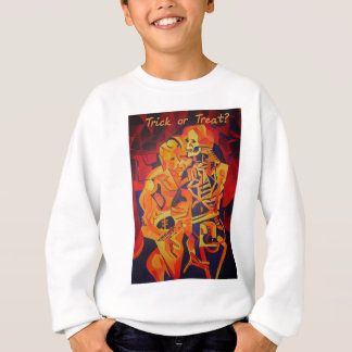 Trick or Treat Skeleton Sweatshirt
