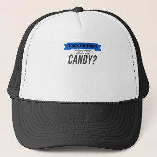 Trick or Treat Special Candy Halloween Design Trucker Hat