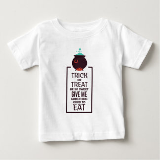 Trick Or Treat Sweet Candy Halloween Design Baby T-Shirt