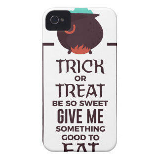 Trick Or Treat Sweet Candy Halloween Design Case-Mate iPhone 4 Case