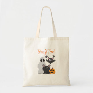 """Trick or Treat"" Tote Bag"