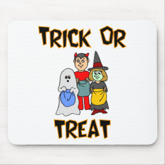 Trick Or Treat Trick-Or-Treaters Mousepad